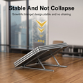 Portable Laptop Stand Aluminium Foldable Notebook Support Laptop Base Macbook Pro Holder Adjustable Bracket Computer Accessories preview-4