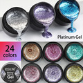 ROSALIND Gel Nail Polish Glitter Paint Hybrid Varnishes Shiny Top Base Coat For Nails Set Semi Permanent For Manicure Nail Art preview-1