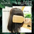 1PC Professional Denman Brush USA Oak Wood Hair Brush Airbag Brush Soft Boar Bristle Brush Hair Straightener Wood Brush For Hair preview-6