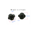 M4 M6 M8 M10 to 1/4  or 3/8 male to male Screw Mount Adapter for camera tripod camera photography accessories preview-2