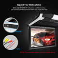"""2021 Newest  12.1 / 10.4 """"TFT LCD 1080P Car Monitor Roof Mount Car Monitor with MP5 Player USB SD Car Ceiling Monitor preview-4"""