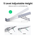 UGREEN Laptop Stand Holder For Macbook Air Pro Foldable Aluminum Vertical Notebook Stand Laptop Support Macbook Pro Tablet Stand preview-5