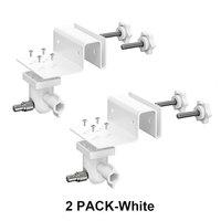 2 Pack White