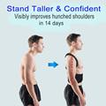 Adjustable Posture Corrector Back Support Shoulder Back Brace Posture Correctionr Spine Corrector Health Postural Fixer Tape preview-2