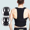 Adjustable Posture Corrector Back Support Shoulder Back Brace Posture Correctionr Spine Corrector Health Postural Fixer Tape preview-1